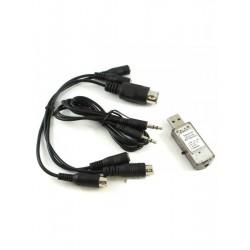 RC Simulátor 22 v 1 - USB interface a kabely