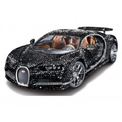 Bburago Bugatti Chiron 1:18 Crystal Version