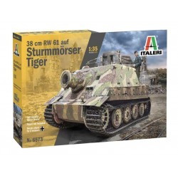 Italeri 38 cm RW 61 auf Sturmmorser Tiger (1:35)