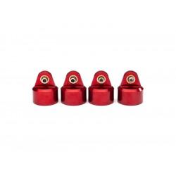 Traxxas hlava tlumiče GT-Maxx hliníková červená (4)