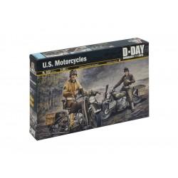 Italeri U.S. MOTORCYCLES WW2 (1:35)