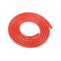 Silikonový kabel 3,5qmm, 14AWG, 1metr, červený