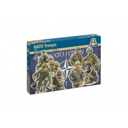 Italeri figurky - vojáci NATO (1980) (1:72)