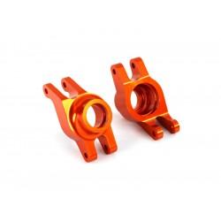 Traxxas těhlice zadní hliníková oranžová (pár)