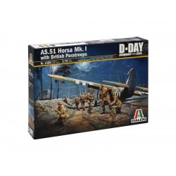 Italeri AS.51 Horsa Mk.I/II a British Paratr. (1:72)