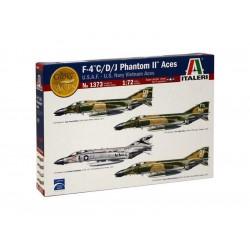 Italeri F-4 C/D/J Phantom II ACES USAF-US Navy Vietnam...