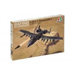 """Italeri A-10 A/C Thunderbolt ll """"Válka v Zálivu"""" (1:72)"""