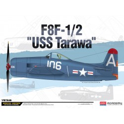 Academy Grumman F8F-1/2 USS Tarawa (1:48)