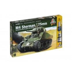 Italeri Wargames - M4 Sherman 75mm (1:56)