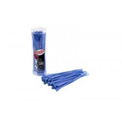 Stahovací pásky 2,5x100mm - 50 ks. - modré