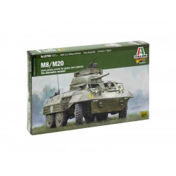 Italeri Wargames - tank M8 / M20 (1:56)
