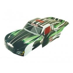 Karoserie Short Course truck 1:5 černo-zelená
