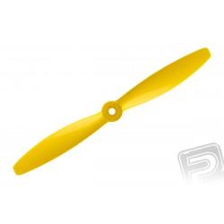 Nylon vrtule žlutá 7x4 (18x10 cm), 1 ks.