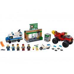 LEGO City - Loupež s monster truckem