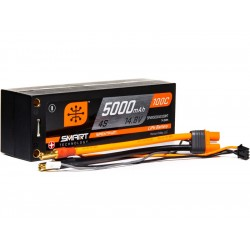 Spektrum Smart LiPo 14.8V 5000mAh 100C Short HC