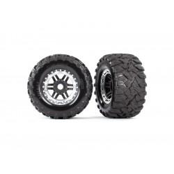 """Traxxas kolo 2.8"""", pneu Maxx All-Terrain, disk černo-šedý..."""