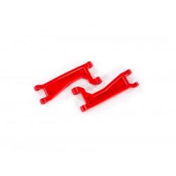 Traxxas rameno závěsu kol horní červené (2) (pro WideMaxx)