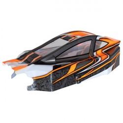 BX8SL RUNNER Bitty design oranžová lexanová karoserie