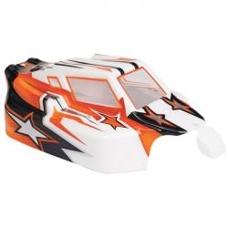 Spirit EVO Bitty design oranžová lexanová karoserie