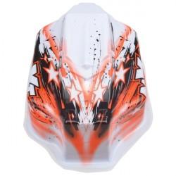 Spirit NXT GP Bitty design oranžová lexanová karoserie