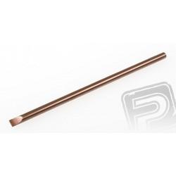 Dřík pro 040 plochý šroubovák 4,0mm