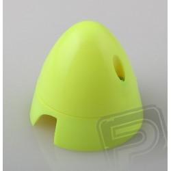 Fluor.kužel 57mm Žlutý Angl.