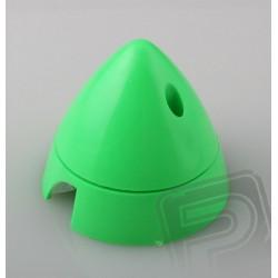 Fluor.kužel 63mm Zelený Angl.