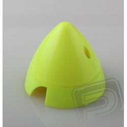 Fluor. kužel 70mm Žlutý Angl.