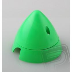 Fluor.kužel 70mm Zelený Angl.