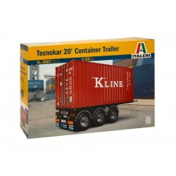 Italeri Tecnokar 20 Container Trailer (1:24)