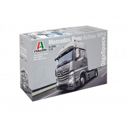 Italeri kamion Mercedes Benz Actros MP4 Gigaspace (1:24)