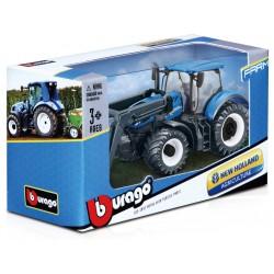 Bburago traktor s nakladačem (sada 12ks)
