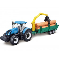 Bburago New Holland T7.315 se dřevem