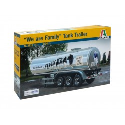 "Italeri CLASSIC TANK TRAILER ""We are family"" (1:24)"