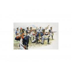 Italeri figurky - FRENCH LINE INFANTRY (NAP.WARS) (1:72)