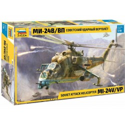 Zvezda Mil Mi-24 V/VP (1:48)