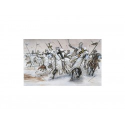 Italeri figurky - TEUTONIC KNIGHTS (MEDIAVAL ERA) (1:72)