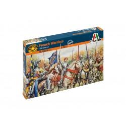 Italeri figurky - FRENCH WARRIORS (100 YEARS WAR) (1:72)