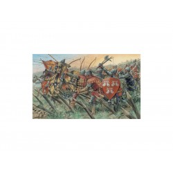 Italeri figurky - ENGLISH KNIGHTS AND ARCHERS (100 YEARS...