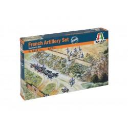 Italeri figurky - FRENCH ARTILLERY SET (NAP.WARS) (1:72)
