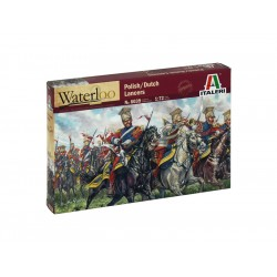Italeri figurky - POLISH-DUTCH LANCERS (NAP.WARS) (1:72)