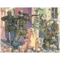 Italeri figurky - WWII - GERMAN PARATROOPERS (1:72)
