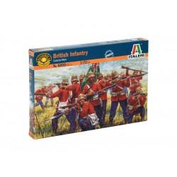 Italeri figurky - ZULU WARS - BRITISH INFANTRY (1:72)