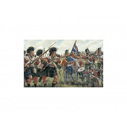 Italeri figurky - BRITISH and SCOTS INFANTRY (NAPOL.WARS)...