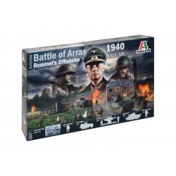 Italeri diorama bitva o Arras 1940 - Rommelův útok (1:72)