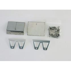 Ocelové vyrovnávací a nastavitelné klapky 57mm délka