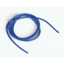 Silikonový kabel 1,6qmm, 15AWG, 1metr, modrý