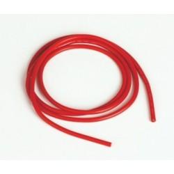 Silikonový kabel 2,0qmm, 14AWG, 1metr, červený