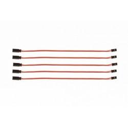Prodlužovací kabel 150mm JR 0,1qmm silný, zlacené...