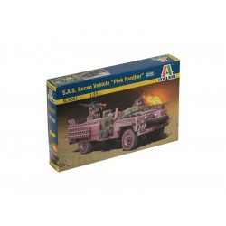 """Italeri S.A.S. RECON VEHICLE """"PINK PANTHER"""" (1:35)"""